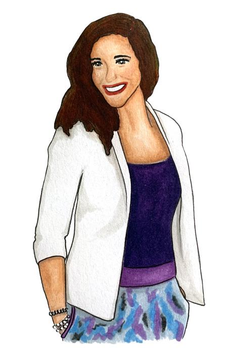 Ilustrace Sylvie
